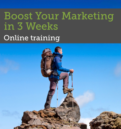 Boost Your Marketing in 3 Weeks