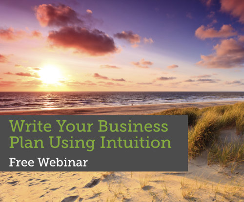 Writing Business Plan Using Intuition